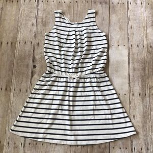 NWT Girls H&M striped dress size 8-10